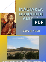 Inaltare Domnului - text evanghelic A