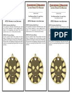 D&D4th RPGA Mods - SPEC1-1 Shades of the Zhentarim Story Awards