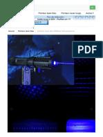 laser bleu 2000mw forte puissance