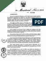 Directiva Personal Administrativo