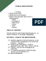 Ib 12 Historical Investigation