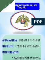 Expososion- Qimica General