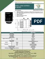 Bmt-2875d-75 Mm c Mount Machine Vision Lenses