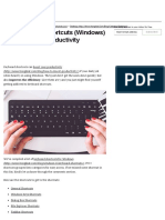 200 Keyboard Shortcuts (Windows) to Boost Your Productivity - Hongkiat