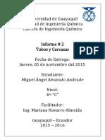 Informe de 403 Tubos&Carcazas.docx