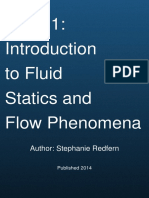 Unit 01 Introduction to Fluid Statics and Flow Phenomena by The