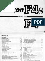 Nikon F4-F4S