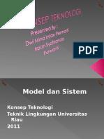 Konsep Teknologi Model Dan Sistem