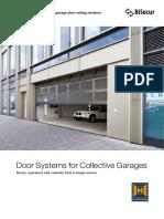 Door systems for garage doors