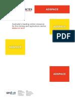 Proposed Australian Resources Media Kit 2015