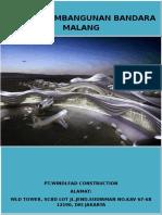 Proposal Manajemen Proyek Bandara