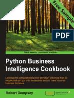 Python Business Intelligence Cookbook - Sample Chapter