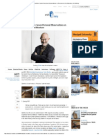 Peter Zumthor_ Seven Personal Observations on Presence in Architecture _ ArchDaily