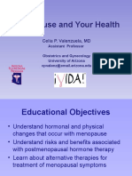 Menopause and Your Health - English Presentation