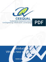 CEEQUAL Introduction + Whats new Version 5 (A5)
