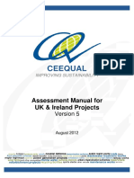 CEEQUAL V5 Assessment Manual for UK Ireland Projects - FINAL 24-08-12 With Covers