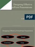 Designing Effective PPT