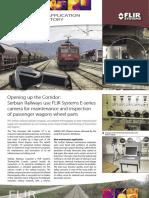 Transport Feroviar Serbian Railway IR FLIR