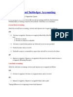 Concept Behind Subledger Accounting