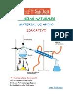 CIENCIAS DE LA NATURALEZA - Material de Apoyo Educativo