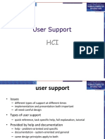 HCI-[9] User Support