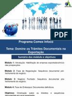 Aula - DDomine Os Trâmites Documentais Na Exportaçãoomine Os Trâmites Documentais Na Exportação