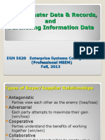 EGN_5620_Enterprise_Sys_Vendor Master and Records D-2-2 Fall 2013