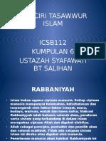 Ciri-ciri Tasawwur Islam