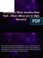 Wholesale Silver Jewelry New York