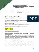 Cómo tramitar un ISSN o un ISBN en el SENA para SENNOVA