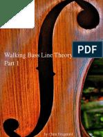 Walking Bass Line Theory Basics