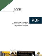 Manual de Operacion Bulldozer