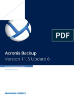 AcronisBackupWS 11.5 Userguide It-IT