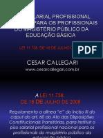Apresentacao Sobre Piso Professor Cesar Calegari