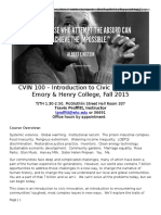 cvin 100 syllabus