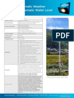 Bhutan - Automatic Weather Stations & Automatic Water Level Station