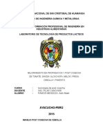Mejoramiento en Propagacion y Post Cosecha de Tomate, Sandia, Alcachofa, Melon, Fresa, Cebolla y Pimiento