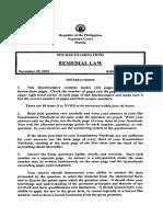 Remedial Law 2015