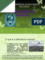Fundamentos Da Educação Inclusiva Deficiência Mental e Síndrome de Down