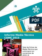 Media Técnica 2015