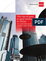 The Rise of P2P Lending in China
