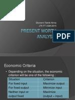 05 Present Worth Analysis