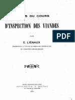 E.lienaux - Inspection Des Viandes