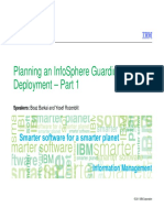Tech Talk - Planning an InfoSphere Guardium Deployment Part 1 (Posted-V3)