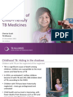 Dr Cherise Scott of TB Alliance on what are the new 1st-ever child-friendly TB drugs