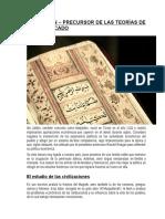 1- Artículo - Abderrahman Ibn-jaldún, Precursor de Las Teorías de Libre Mercado