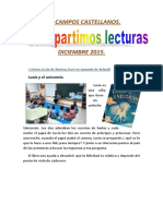 COMPARTIMOS LECTURAS. DICIEMBRE 2015