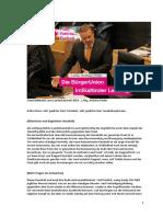 Landeshaushalt 2016 - Generaldebatte - Rede L.Abg. Andreas Pöder (BürgerUnion)