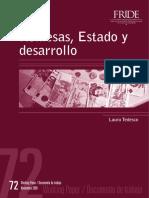 Remesas, Estado y Desarrollo