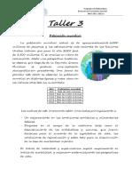 Taller 3 Algebra MAT200 2-2015